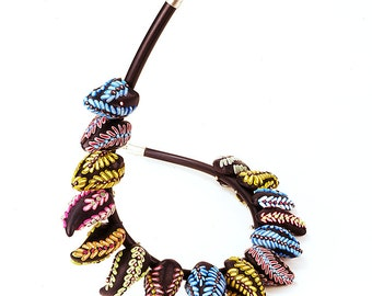 Alice in Wonderland Necklace handmade Polymer Clay  Necklace
