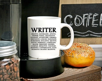 Gifts for writers etsy writer gift writing mug gifts for writers author screenwriters writing gifts negle Image collections