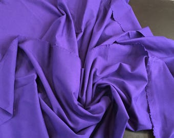 Royal Purple Ponte knit, incredible Rayon, made in Italy, amazing weight, 1 5/8 Yard piece, 54 inches wide, the finest knit around