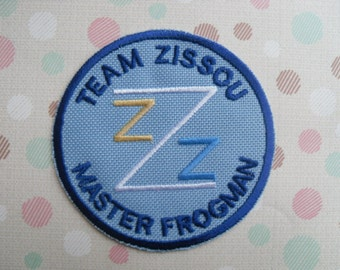 Team Zissou Frogman Patch/The Life Aquatic / Patch / Team Zissou /  Iron On Patch