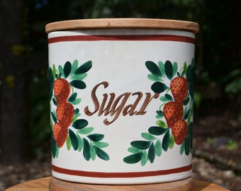 Mid-Century Bauer Sugar Canister