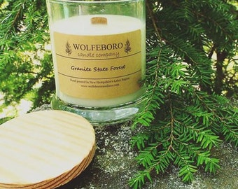 Granite State Forest Soy Candle