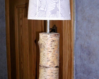 "Table lamp made of birch ""Rovaniemi"" large"