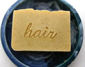 Lemon Vanilla Shampoo Bar - Aloe Vegan Shampoo Bar