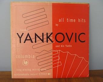 Vintage 1949 Frankie Yankovic and his Yanks lp SALE!