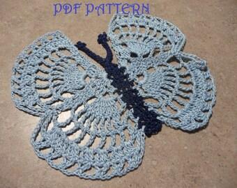 Crochet Butterfly PDF Pattern