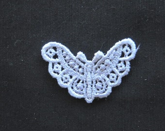 Butterfly Applique Venise Lace 6002