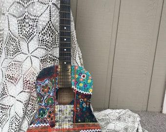 Funky Flowers- Boho Guitar