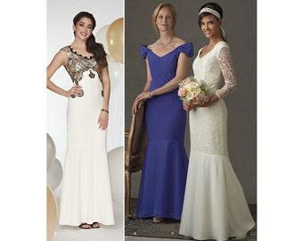 A Line Prom Dress Patterns