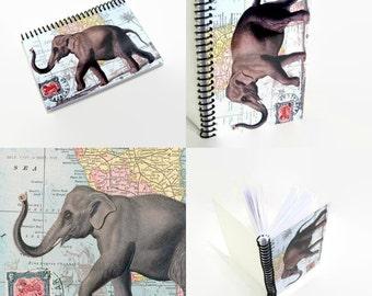 Elephant Postcard Notebook