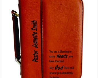 Pastors Wife Gift -  Gifts for Pastor's Wife Appreciation - Mother's Day - Mothers Day - Bible Cover Gift for Her, BCL012