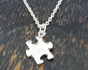 Autism Necklace, Autism Charm, Autism Pendant, Autism Jewelry, Autism Awareness Jewelry, Autism Teacher Gift, Autism Gift, Autism Mom