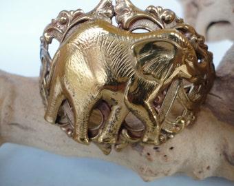 Vintage Elephant Bangle