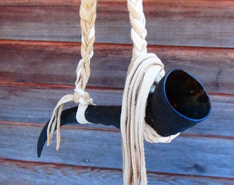 Drinking Horn, Viking drinking horn, Celtic drinking horn, Scandinavian drinking horn, Mead horn, Ale horn, Horn cup, horn mug, blesbok horn