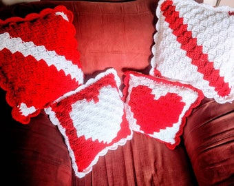 Mix and Match Valentine's Pillows