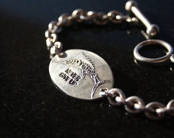 Never Give Up/Sailfish Bracelet