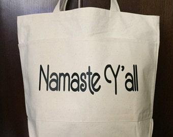 Yoga Bag | Namaste Y'all | Market Tote