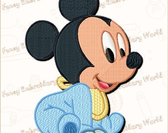 Little Mickey Mouse EMBROIDERY DESIGN ,machine embroidery design,embroidery designs.Instant download,5 sizes,8 formats #1006-2