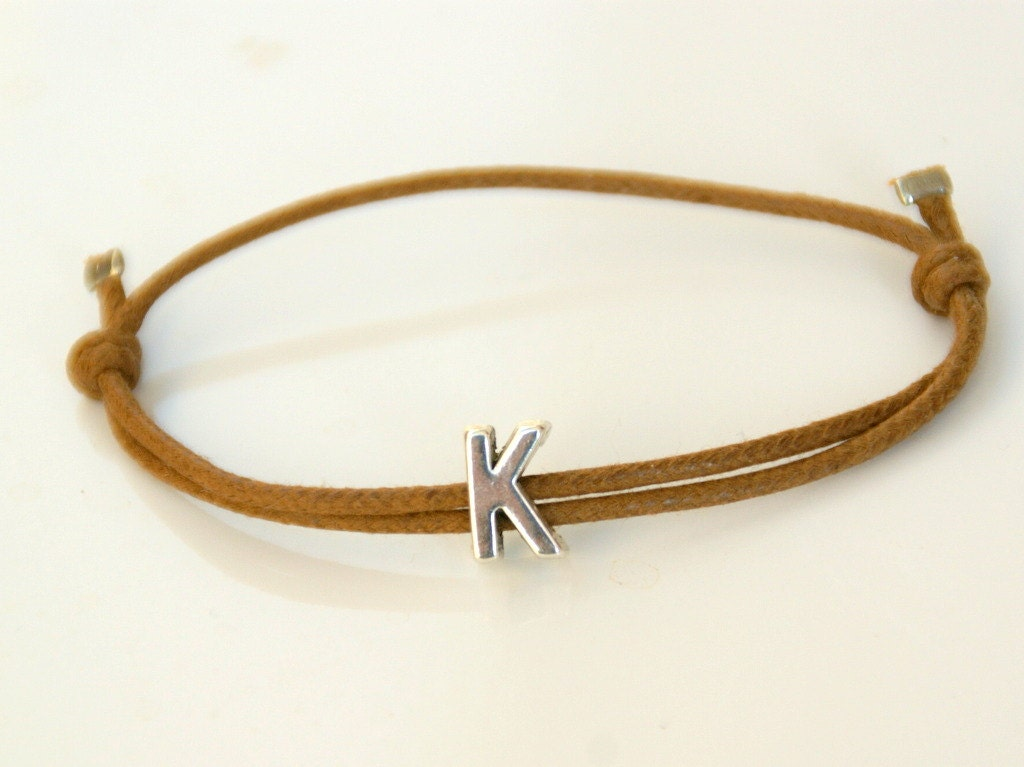 item bracelet initial gift girlfriend heart jewelry fashion name tiny letter personalized dainty