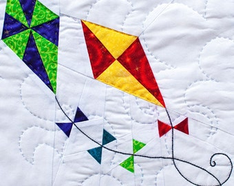 Spring Kites - Paper Piecing