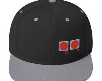 Classic Video Game Controller Hat | Nostalgic Nintendo Hat, Nerdy Men's Hat, Gamer Snapback Hat