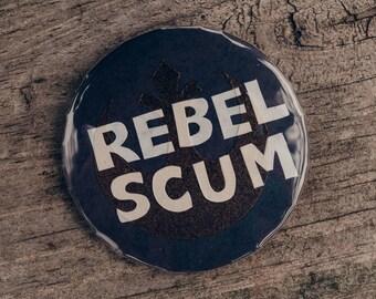 Handcut Rebel Buttons