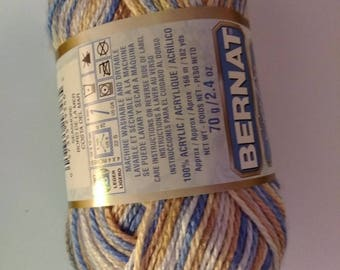 Bernat Satin Sport Yarn Seashore
