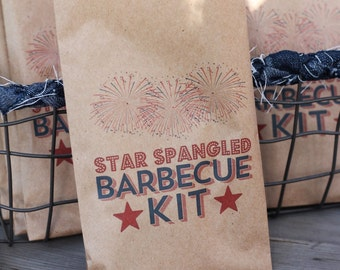 25 4th Of July Kit Pouches