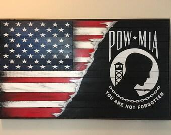 POW / American Flag
