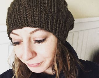 Simple Cable Hat