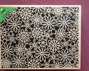 Hero Arts Daisy Reverse Pattern