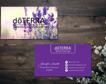 Doterra Business Cards Etsy - Doterra business card template