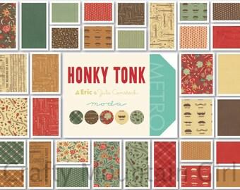 Honky Tonk Fat Quarter Bundle by Eric & Julie Comstock for Moda Fabrics