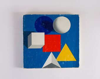 1970 Herbert Bayer BAUHAUS 50 YEARS Exhibit
