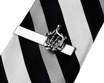 Bagpipe Tie Clip