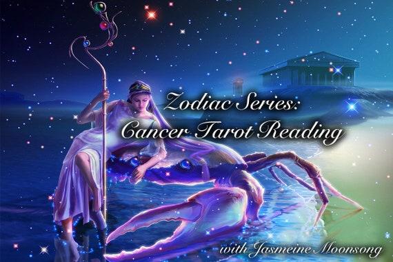NEW! Zodiac Series  Cancer Tarot Reading