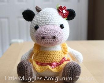 Amigurumi Vaca : Amigurumi crochet pattern gordy the goat