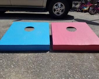 Kids cornhole boards
