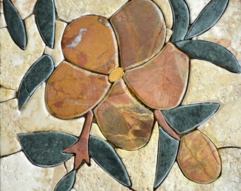 Floral Mosaic Tile Patterns