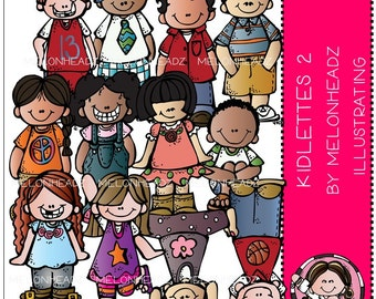 Kidlettes clip art Part 2 - COMBO PACK