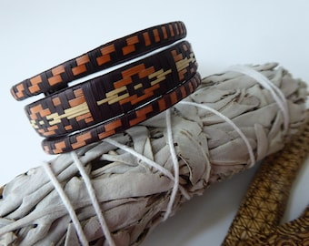 Earth Keeper ~ Woven Cuff Bracelet