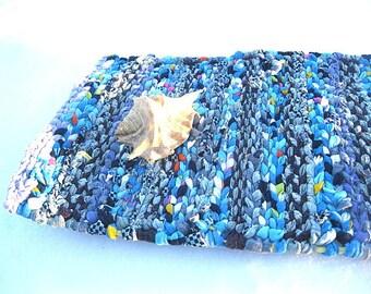 NIAGARA FALLS   rag weaving TaBLE RuG  Placemat