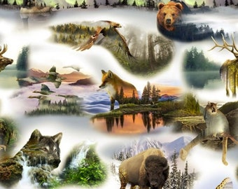 Hoffman - Call of the Wild - Digital Print - Forest Panel