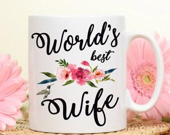 World's Best Wife, Best Wife mug, Wife gift mug, Wife gift, Gift for her, Wife mug, Great wife, Happy Wife Happy life, Gift for Wife, Mug
