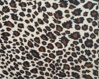 Velboa S-Wave Fabric Prints By The Yard -  Puma (W2)
