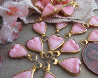 20-1950's Vintage Pink Petal Or Leaf