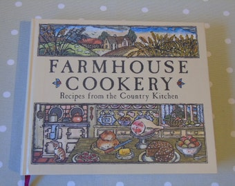 1980 Reader's Digest Farmhouse Cookery Recipes From The Country Kitchen - Large Vintage Cookery Book - Vintage Cookbook