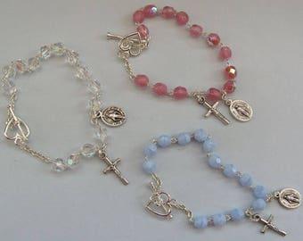 Childrens Rosary Bracelet