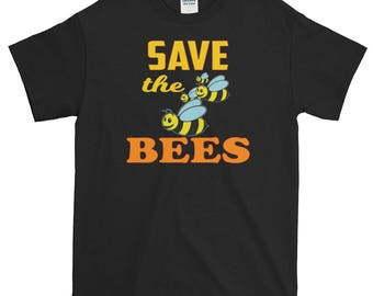 Cute Shirt Bee Print Bee Present Honey Bees Save The Bees Amazing Bee Gift Bee Lover's Tee