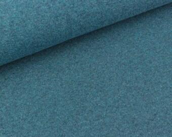 Fine knit Bene Rauchblau mottled (15.90 EUR/meter)